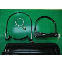 Air Reservoir Straps, Fittings and Brackets