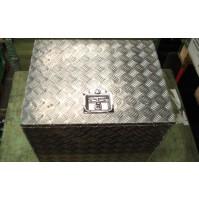 Alloy Chequer Plate Tool Box
